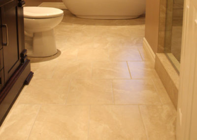 bathroom flooring installation 3