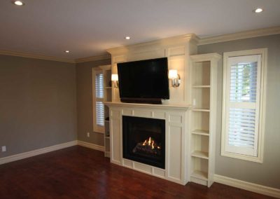 whitby custom fireplace kitchen 1
